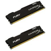 Памет 2x4GB DDR4 2666 Kingston HyperX Fury на супер цени