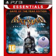 Batman: Arkham Asylum GOTY - Essentials (PS3) на супер цени