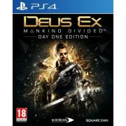 Deus Ex: Mankind Divided - Day 1 Edition (PS4) на супер цени